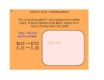 Estimating Multiplication (3 digit by 2 digit)