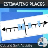 Estimating Places Sort TEKS 6.2c CCSS 6.NS.6 Math Workshop