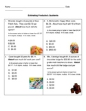 Estimating Products & Quotients