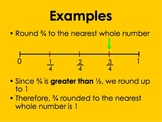 Estimating Proper Fractions PowerPoint by Kelly Katz