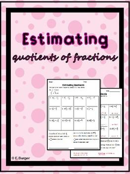 Estimating Quotients
