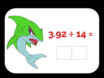 Estimating Quotients and Dividing Decimals Digital Boom Cards Eureka Module 2