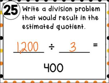 Estimating Quotients with 1-Digit Divisors
