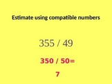 Estimating Quotients with 2-Digit Divisors