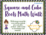 Square and Cube Roots Math Walk