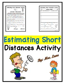 Estimating Short Distances Activity