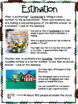 Estimating Small Group Lesson