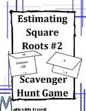 Estimating Square Roots #2 Scavenger Hunt Game