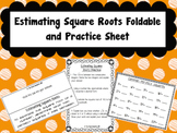 Estimating Square Roots Foldable and Practice for Interactive Notebooks