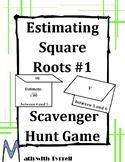 Estimating Square Roots #1 Scavenger Hunt Game