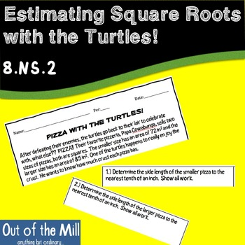 8.NS.2 Estimating Square Roots with the Turtles