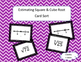 Estimating Square and Cube Roots Card Sort