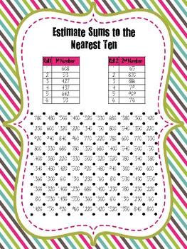 Estimating Squares Games