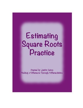 Estimating Square Roots Practice