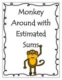 Estimating Sums - Monkey Memory Match