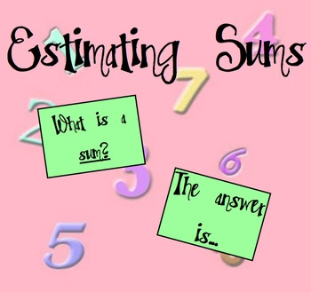 Estimating Sums and Differences