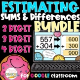 Estimating Sums and Differences BUNDLE of Digital Activities