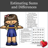 Estimating Sums and Differences Game
