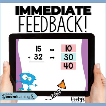 Estimating Sums and Differences - Round to 10 Digital Task Cards