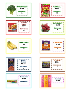 Estimating Sums and Differences for Decimals *Take a Shopping Trip*