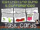 Estimating Sums and Differences with Decimals Task Cards CC ALIGNED  5.NBT.4