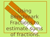 Estimating Sums of Fractions with UNlike Denominators using Benchmark Fractions