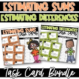 Estimating Sums and Differences Task  Cards Bundle