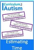 Estimating Time Life Skills Math Autism