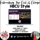 Estimating the Cost of College (HBCU Style) (8.12G)