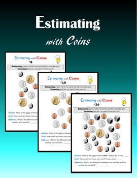 Money:  Estimating with Coins