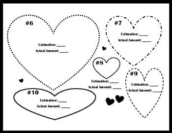 Estimating with Conversation Hearts