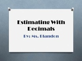 Estimating with Decimals One Week Of Bell Ringers