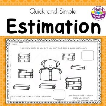 Estimation Worksheets