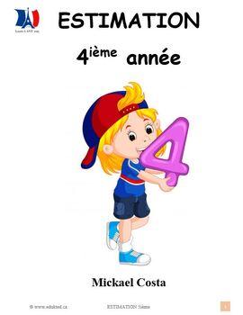 Estimation, 4ième année, French Immersion (#165)
