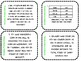 Estimation Addition and Subtraction Task Cards