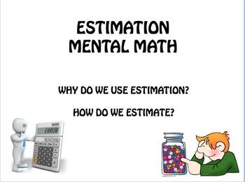 Estimation Benchmarks