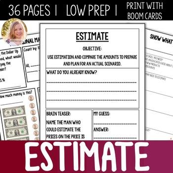 Estimation Bundle- High School Special Education