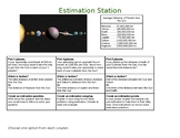 Estimation Choice Board