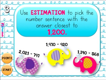 Estimation Elephants PowerPoint Game