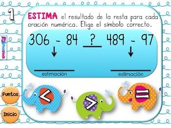 Estimation Elephants SPANISH PowerPoint Game