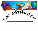 Estimation Jar Award