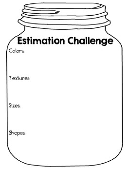 Estimation Jar Challenge Pack ~ Designed for Intermediate Students!