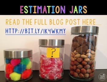Estimation Jar FREEBIE!