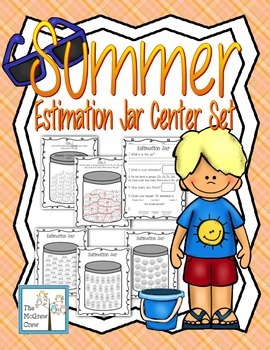 Summer Estimation Jar Greater Than/Less Than Skip Counting