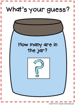 photo regarding Guess How Many in the Jar Printable referred to as Estimation Jar Printables