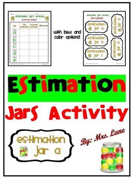 Estimation Jars Activity