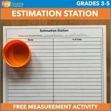 Estimation Measurement Activities to Build Conceptual Unde