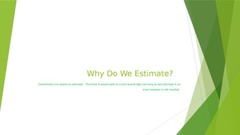 Estimation Mini Lesson