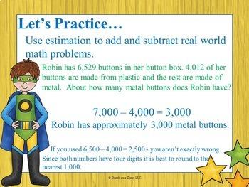 Estimation - 4th Grade