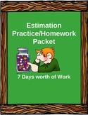 Estimation Practice/Homework Pack